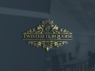 Twisted Turquoise Boutique Logo - Entry #112