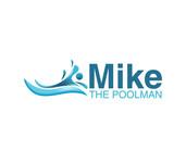 Mike the Poolman  Logo - Entry #150