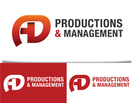Corporate Logo Design 'AD Productions & Management' - Entry #77
