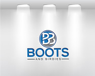 Boots and Birdies Logo - Entry #20