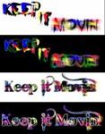 Keep It Movin Logo - Entry #445