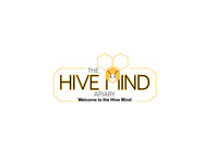 The Hive Mind Apiary Logo - Entry #131