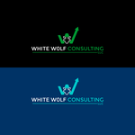 White Wolf Consulting (optional LLC) Logo - Entry #471