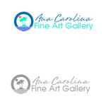 Ana Carolina Fine Art Gallery Logo - Entry #146