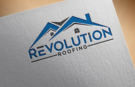 Revolution Roofing Logo - Entry #288