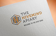 The Hive Mind Apiary Logo - Entry #155