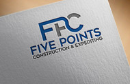 Five Points Construction & Expediting Logo - Entry #8
