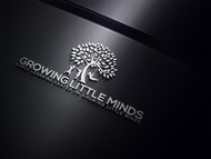 Growing Little Minds Early Learning Center or Growing Little Minds Logo - Entry #4