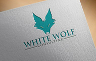 White Wolf Consulting (optional LLC) Logo - Entry #299