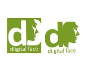 Digital Face Logo - Entry #14