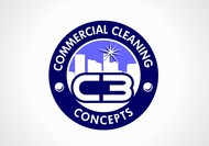 Commercial Cleaning Concepts Logo - Entry #79