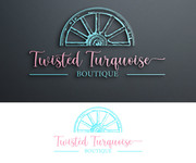 Twisted Turquoise Boutique Logo - Entry #85