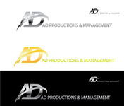 Corporate Logo Design 'AD Productions & Management' - Entry #145