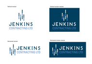 Jenkins Contracting LTD Logo - Entry #17