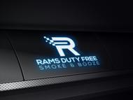 Rams Duty Free + Smoke & Booze Logo - Entry #224