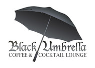 Black umbrella coffee & cocktail lounge Logo - Entry #123