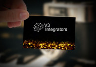 V3 Integrators Logo - Entry #209