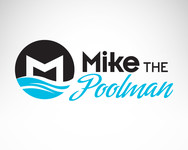 Mike the Poolman  Logo - Entry #45
