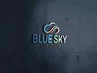 Blue Sky Life Plans Logo - Entry #29