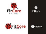 FitCore District Logo - Entry #102