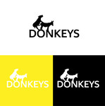 DONKEYS Logo - Entry #33