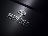 Blue Sky Life Plans Logo - Entry #114