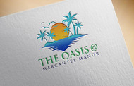 The Oasis @ Marcantel Manor Logo - Entry #122