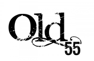 """""""OLD 55"""" - mid-century vintage furniture and wares store Logo - Entry #65"""