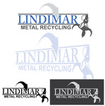 Lindimar Metal Recycling Logo - Entry #357