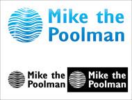 Mike the Poolman  Logo - Entry #113