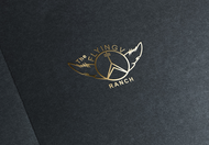 The Flying V Ranch Logo - Entry #35