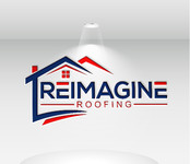 Reimagine Roofing Logo - Entry #123