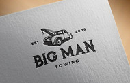 Big Man Towing Logo - Entry #83