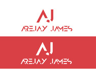 arejay james Logo - Entry #11