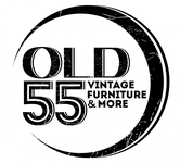 """""""OLD 55"""" - mid-century vintage furniture and wares store Logo - Entry #182"""