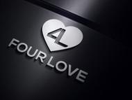 Four love Logo - Entry #42