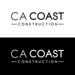 CA Coast Construction Logo - Entry #291