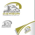 Dawson Transportation LLC. Logo - Entry #114