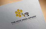 The Hive Mind Apiary Logo - Entry #150