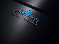 Allure Spa Nails Logo - Entry #137
