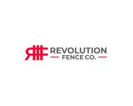 Revolution Fence Co. Logo - Entry #205