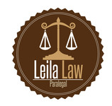 Leila Law Logo - Entry #101