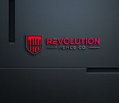 Revolution Fence Co. Logo - Entry #123