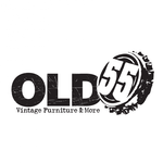 """""""OLD 55"""" - mid-century vintage furniture and wares store Logo - Entry #195"""