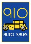 910 Auto Sales Logo - Entry #91