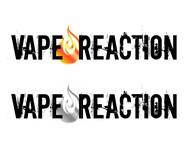 Vape Reaction Logo - Entry #29