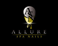 Allure Spa Nails Logo - Entry #13