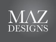 Maz Designs Logo - Entry #296