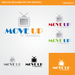 Move Up TV Training  Logo - Entry #76