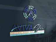 AVIVA Glow - Organic Spray Tan & Lash Logo - Entry #103